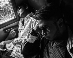 Sri Lanka, Train Journey by David Gleave 2018.