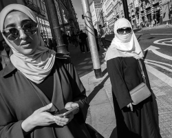 Street Photography, Oxford Road, Manchester by David Gleave
