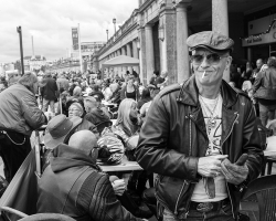 Street Photography, Ace Cafe re union, Brighton by David Gleave