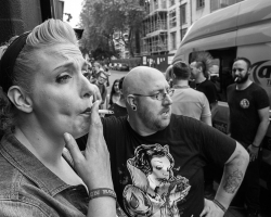 Street Photography Camden Town June 2016 by David Gleave